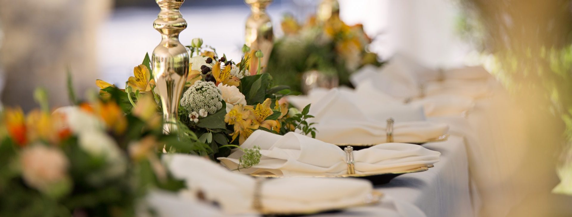 Wedding Dinner Table Details